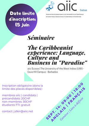 The Caribbeanist Experience_flyer_300_424